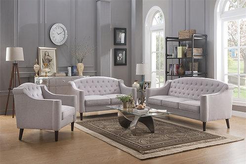 All Freesia Sofa Cream Fabric