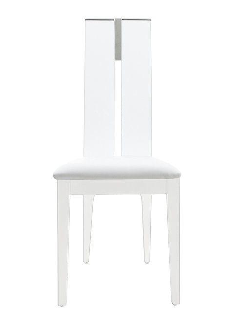 Avanti Shar White gloss Chair
