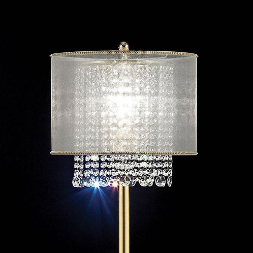 Ana Imprad Golden Metal / Crystal Floor Lamp