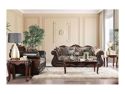 JAMAEL Imprad Traditional Sofa