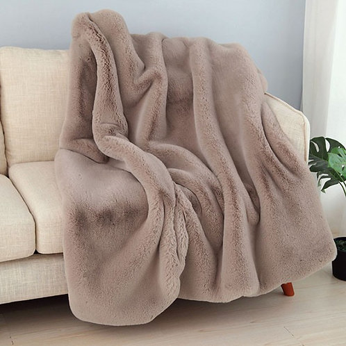 Caparica Imprad Pink Blush Throw Blanket