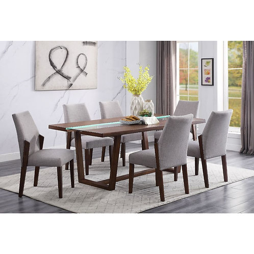Bernice All Dining Table Brown