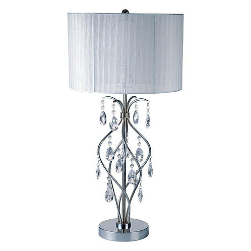 Xia Imprad White Metal Table Lamp
