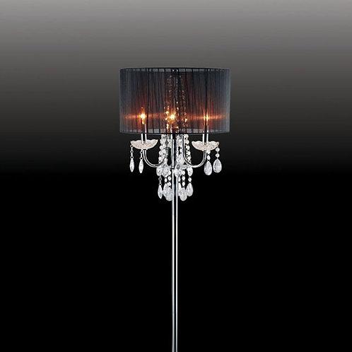Jada Imprad Black Floor Lamp