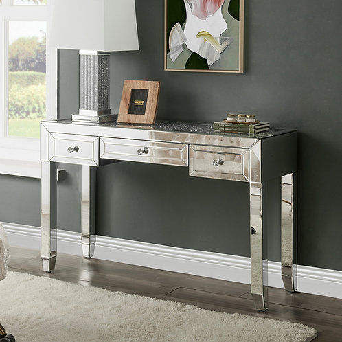 All Glam Noralie 90673 Mirrored Writing Desk