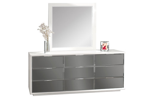 Mera Shar Lacquer Dresser and Mirror