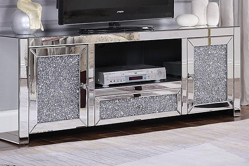 Noralie All Mirrored TV Stand