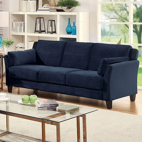YSABEL Imprad Navy Sofa Contemporary