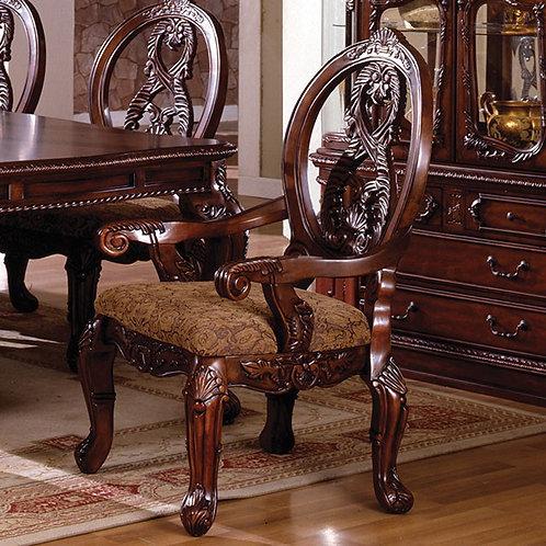 TUSCANY Imprad Antique Cherry Dining Arm Chair