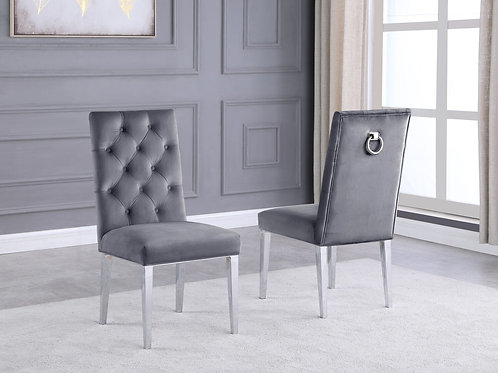 Best Q SC70 Velvet Gray Chair