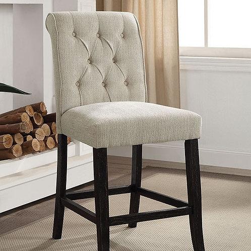Izzy Imprad Beige Counter High Chair