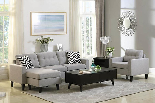 Metro Cali Tufted Reversible Sectional