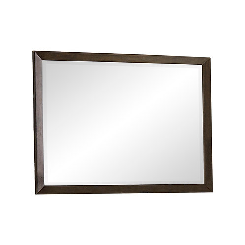 Ridgewood Henry Contemporary Oak Finish Mirror