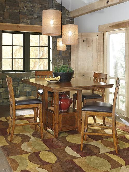 Angel Ralene Medium Brown Counter EXT Table
