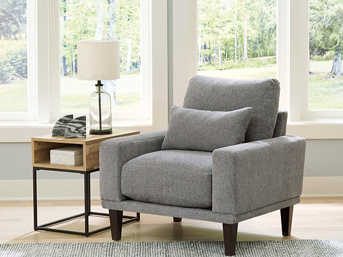Baneway Angel Gray Contemporary Chair