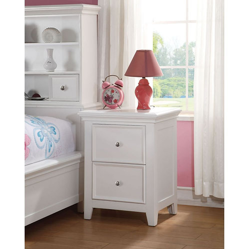 Lacey All Nightstand White