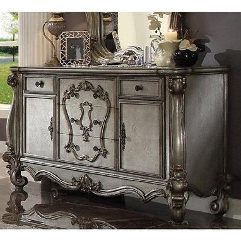 Versailles All Antique Platinum Finish Dresser
