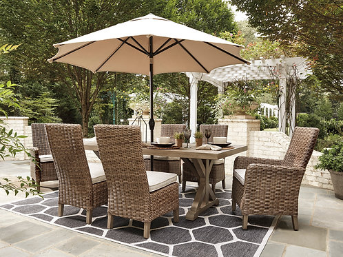 Beachcroft Angel Table, 2 Arm Chairs, 4 Side Chairs