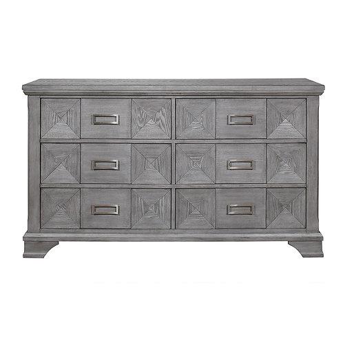 Mayodan Henry Antique Gray Dresser
