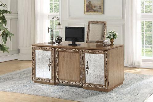 Orianne All Executive Desk Antique Gold