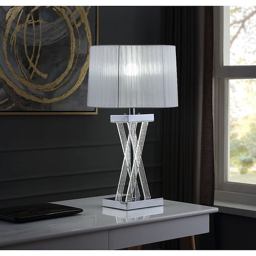 All Mallory 40342 Glam - LED Light, Acrylic and Chrome Table Lamp