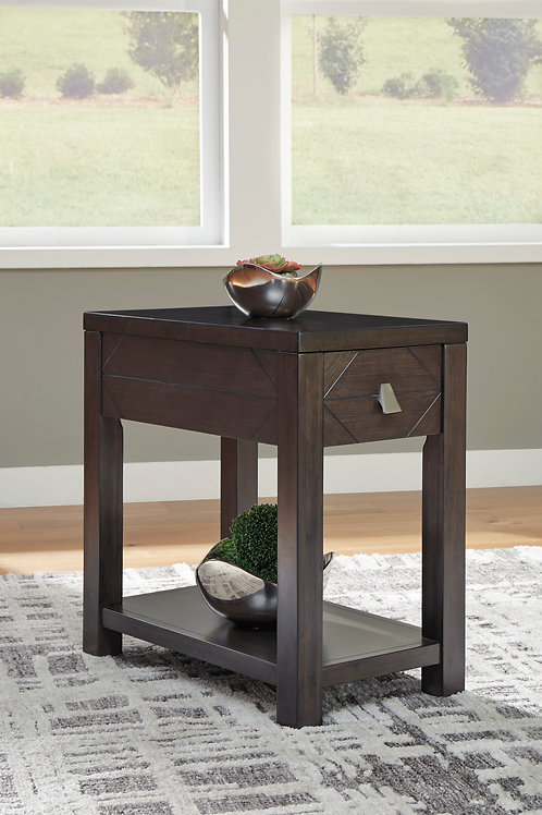 Tariland Angel Chairside End Table