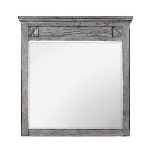Mayodan Henry Antique Gray Mirror