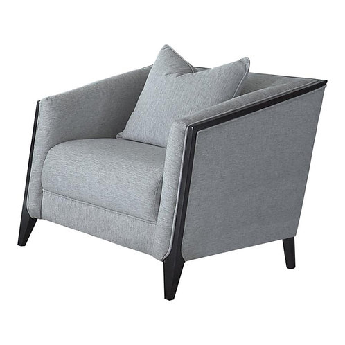 Whitfield Cali Grey Chenille Chair