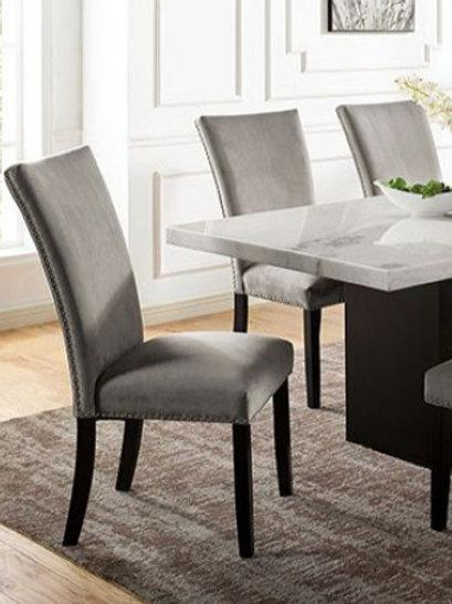 Kian Imprad Black/Light Gray Chair