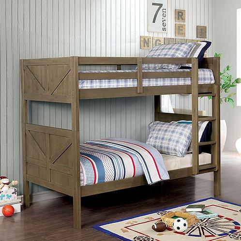 KITCHENER Imprad Twin/Twin Bunk Bed
