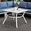Thumbnail: SHARON Imprad Contemporary White Patio Coffee Table