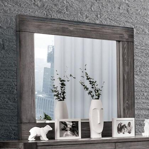 JANEIRO Imprad Gray Modern Mirror