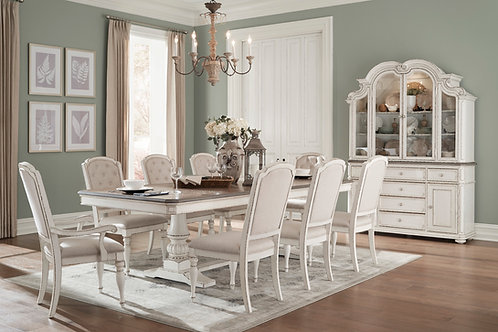 Henry Willowick Antique White Finish Table