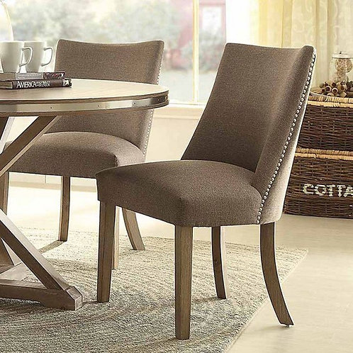 Beaugrand Henry Upholstered Grey Side Chair