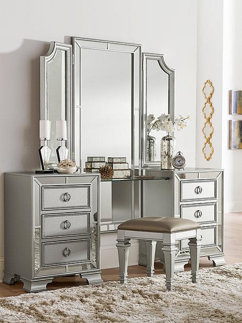 Henry Avondale Vanity w/ Mirror & Stool