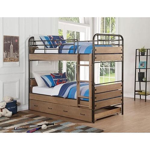 Adams All Twin/Twin Bunk Bed