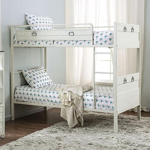 MCCREDMOND Imprad Twin/Twin White Bunk Bed