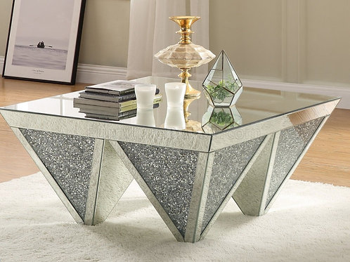 Noralie All 84900 Mirrored Square Coffee Table