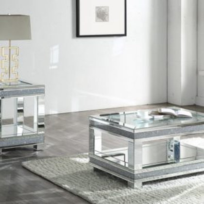 Noralie All 88022 Mirrored End Table