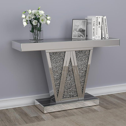 Beaufort Cali Mirrored Console Table
