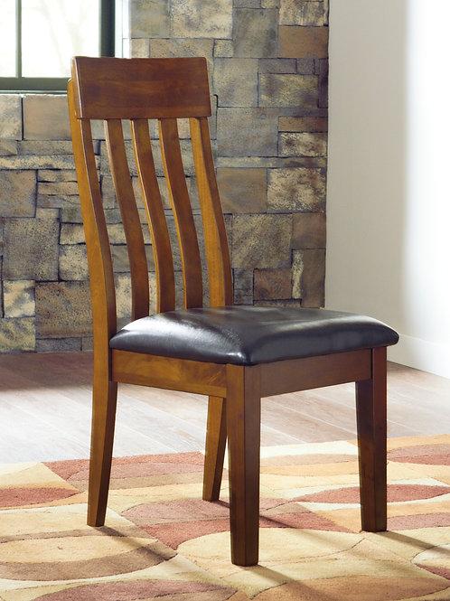Angel Ralene Medium Brown Side Chair