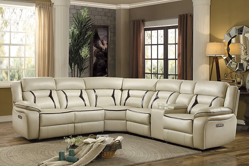Henry Amite 6-Piece Modular Power Reclining Sectional