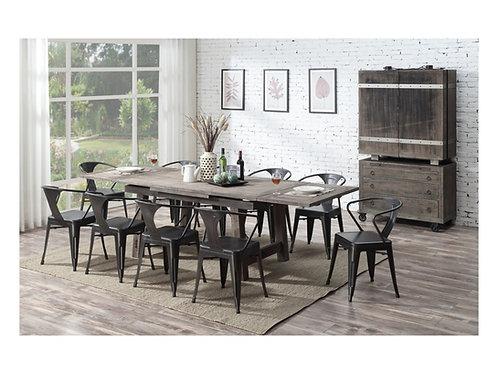 Emeral Dakota Rustic Pine Dining Table