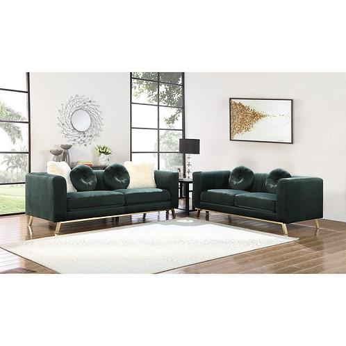 Best Emerald Green Velvet Sofa