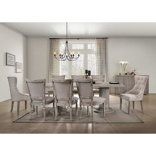 Gabrian All Dining Table Reclaimed Gray