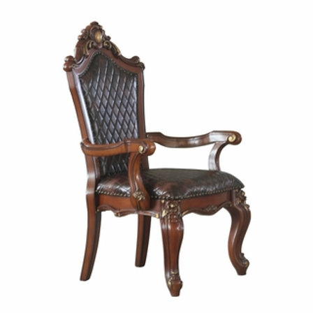 Picardy ALL Fabric Leather Arm Chair