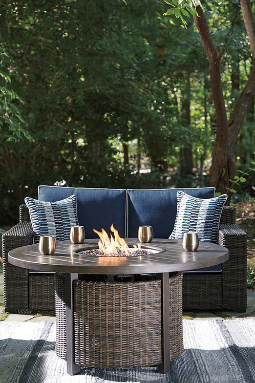 Paradise Trail Angel Round Fire Pit Table