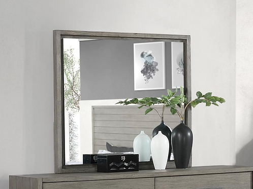 Cali Derbyshire Mirror in Grey Oak