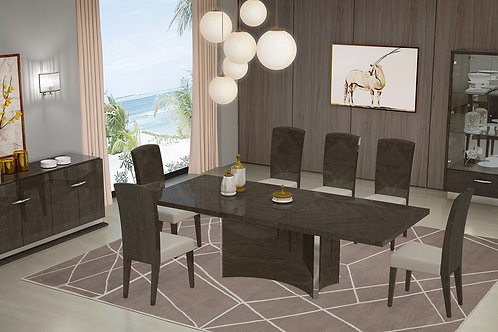 845 Geo Gray Dining Table