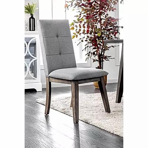 ABELONE Imprad Mid-Century Modern Gray Dining Chair